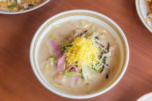 Seafood Champon - Traditional Nagasaki  noodle dish.